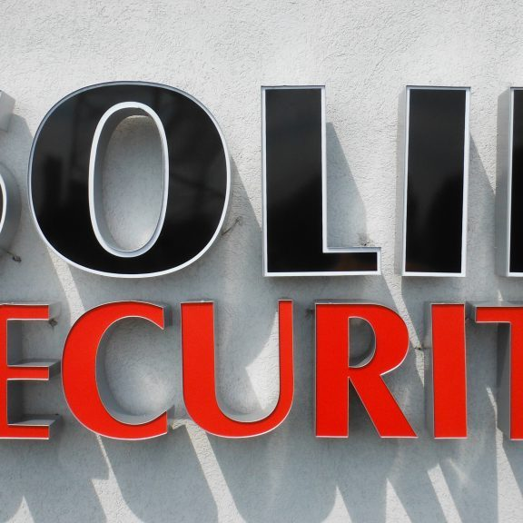 solid security litery 3d